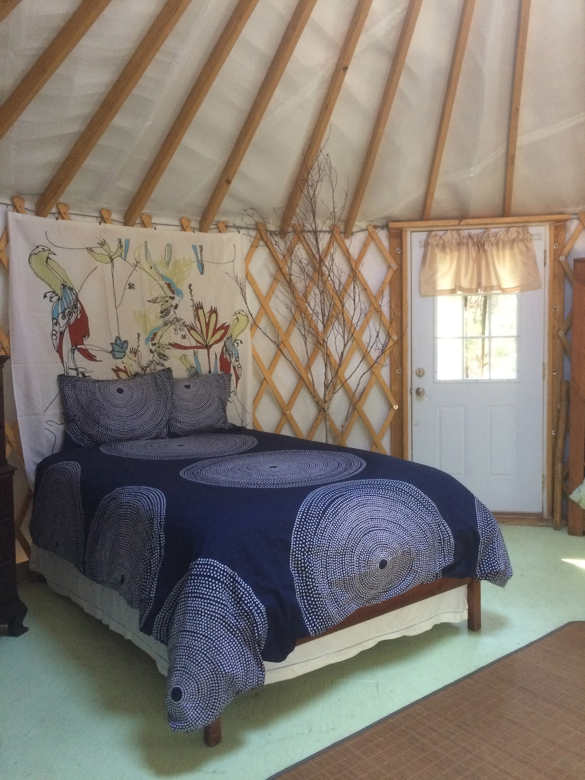 Stowe Forest Yurt