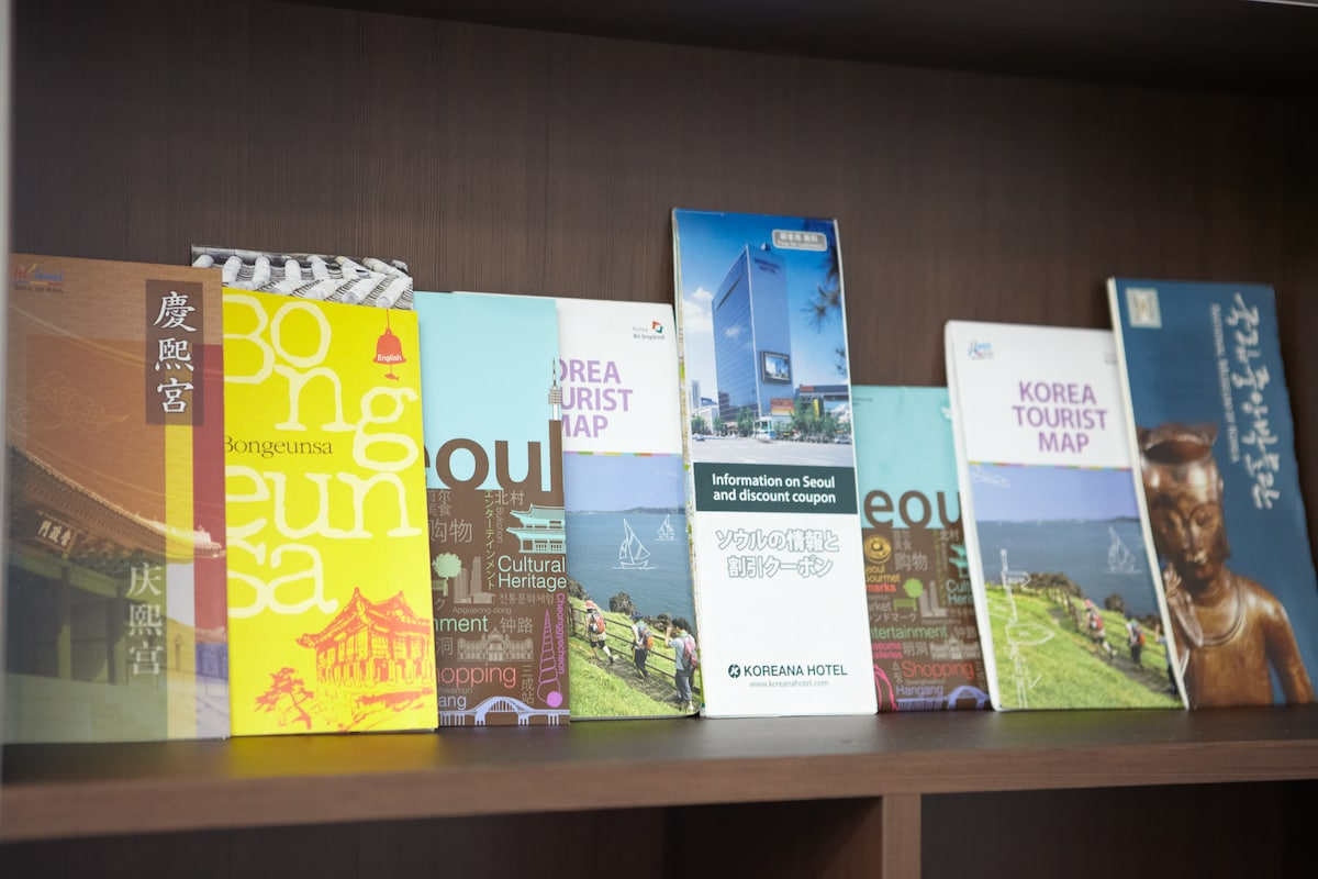 Tourist information and maps already prepared for your arrival.