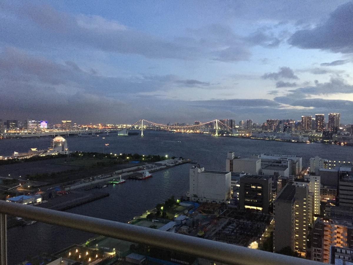 Wonderful View&Room,Near GINZA