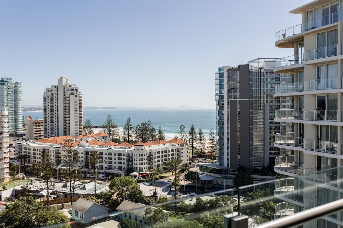 Penthouse overlooking Coolangatta