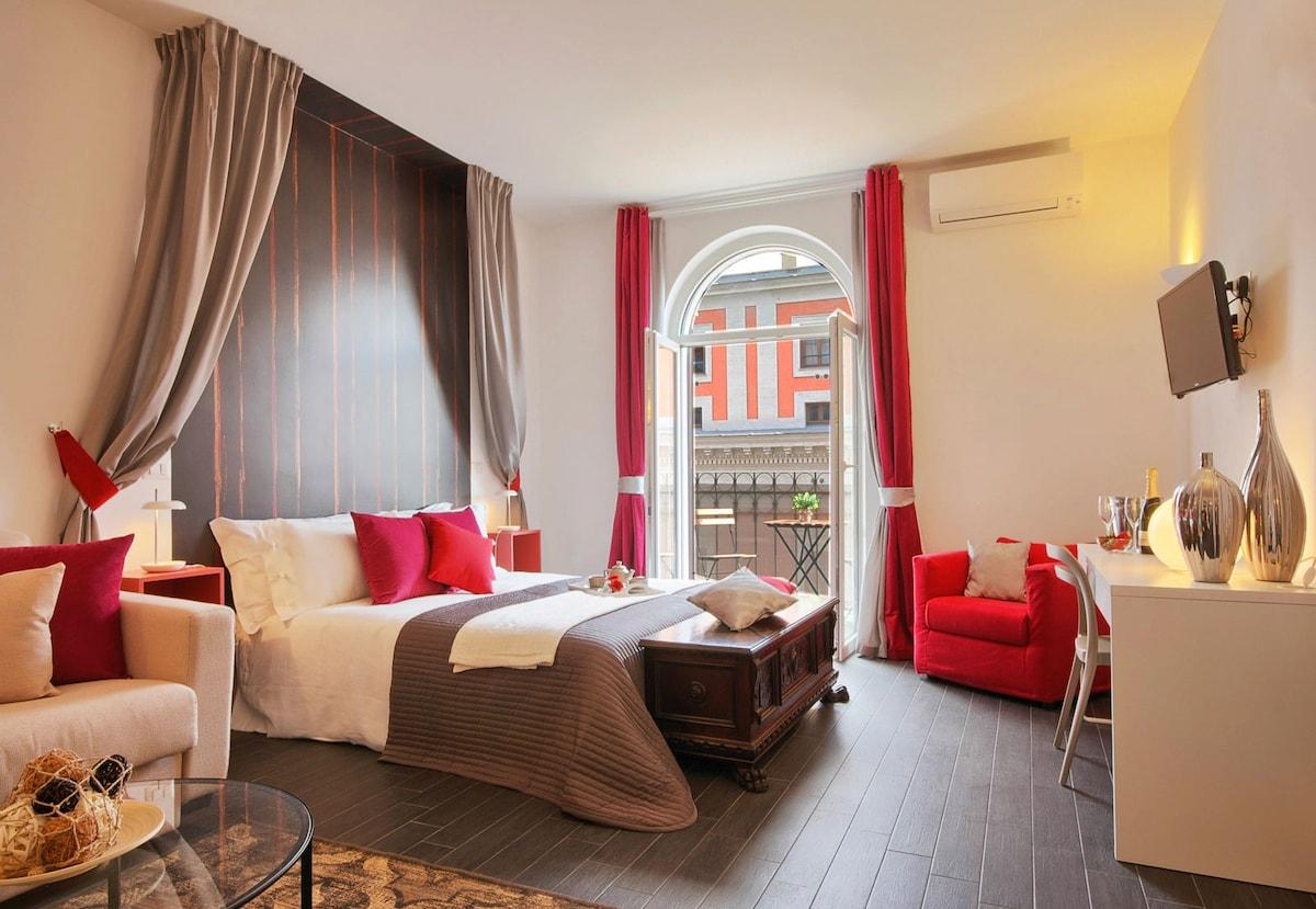'Relais 4 Fontane' Parione Room