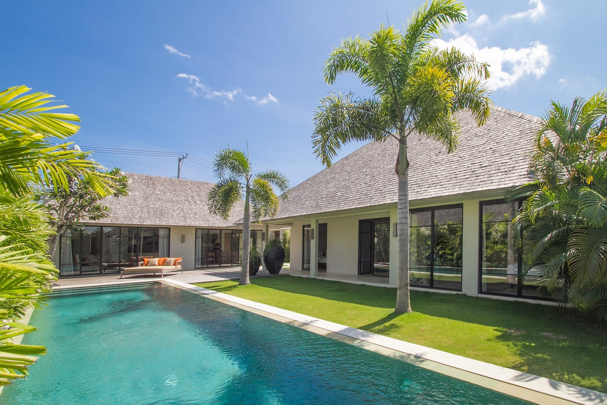 Contemporary tropical living