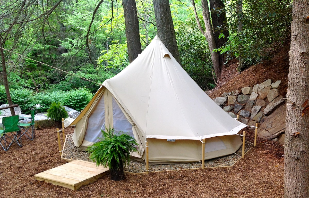 WNC Glamping Tent-cabin #11