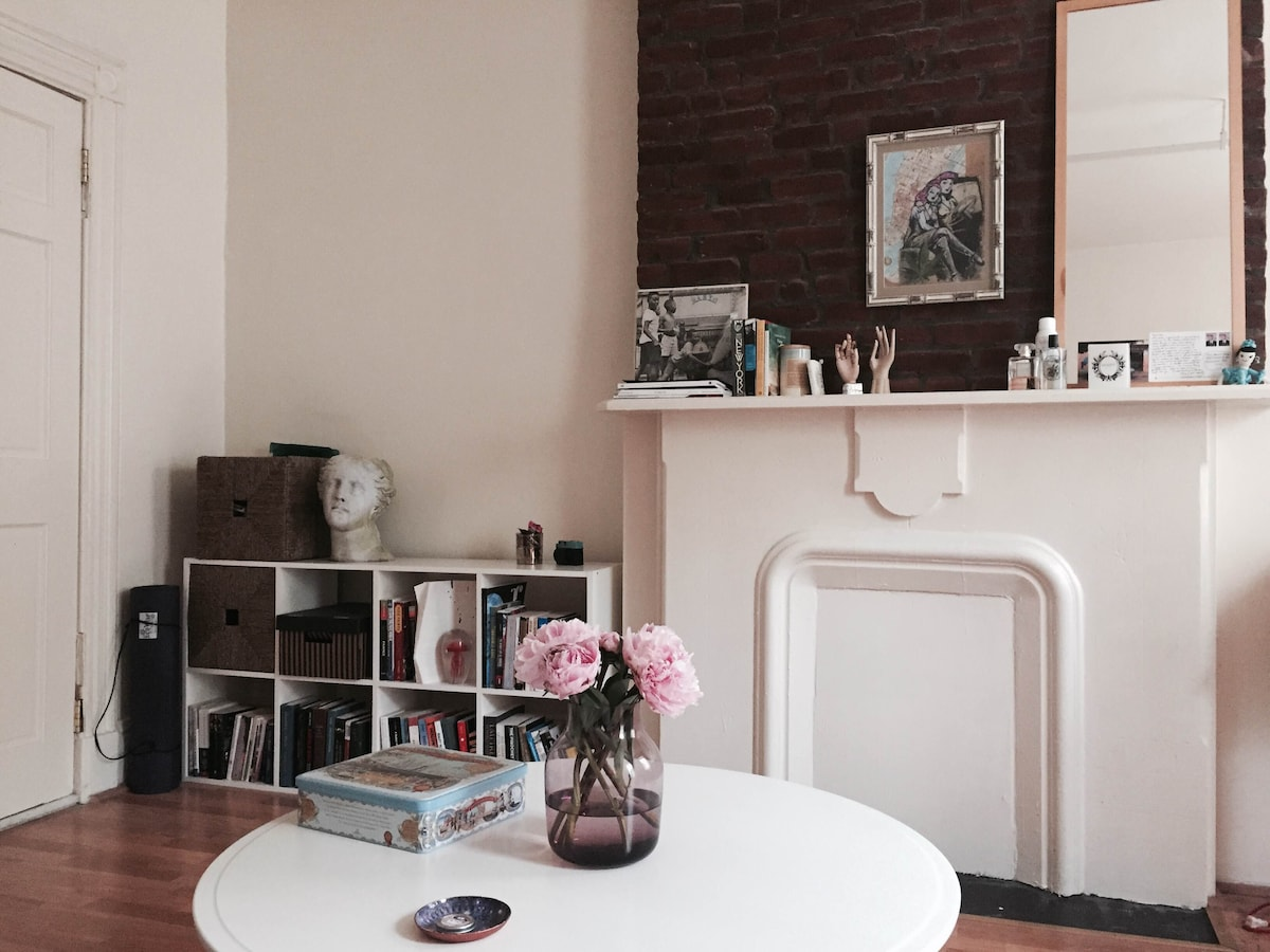Bed-Stuy Brownstone Space