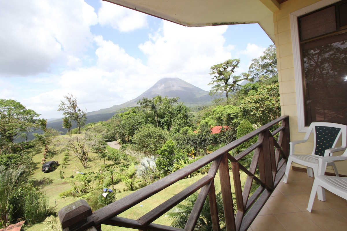Private, Balcony & Volcano View...