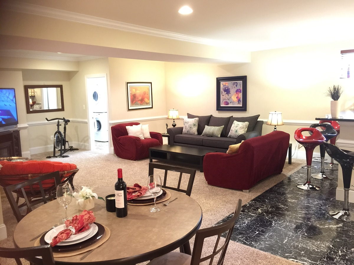 Luxury Huge ALL Furnished 2 bedroom