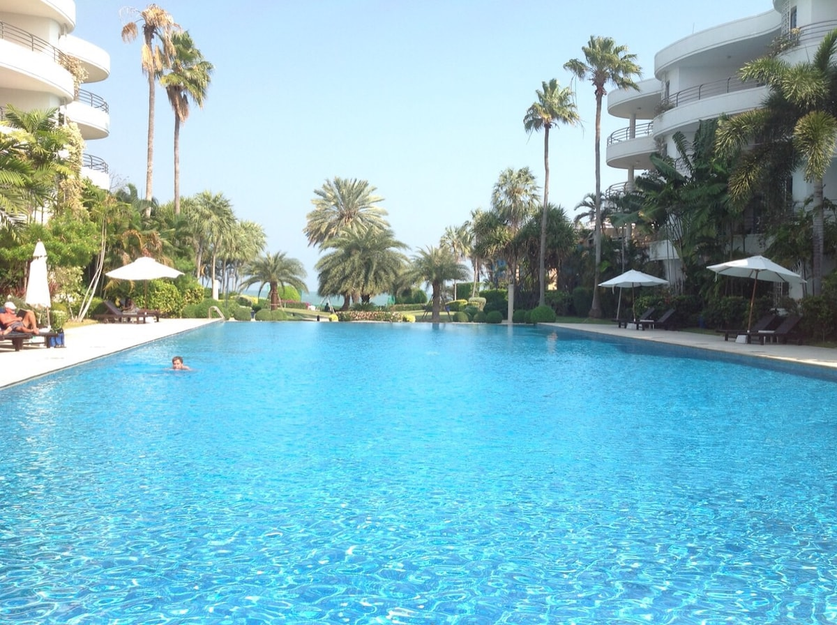 Best beach side swimming pool in HH