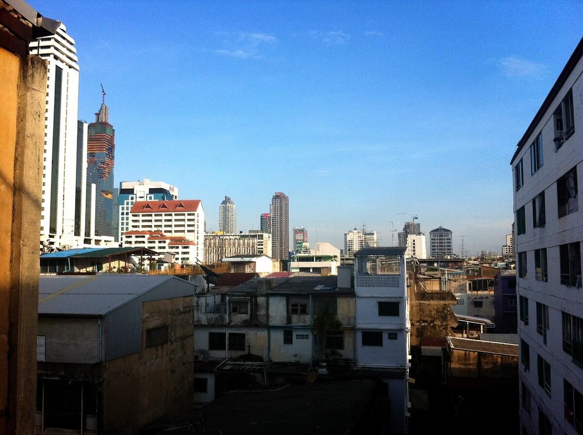 Six Storey Building in Silom