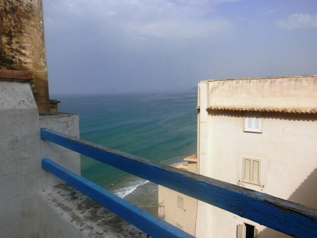 Sperlonga historic centre, sea view