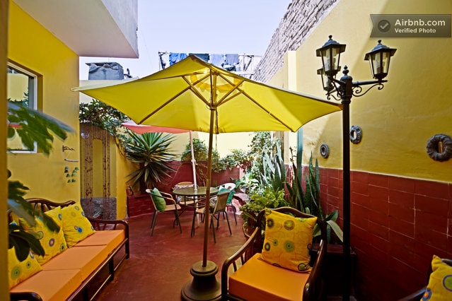 Casa Anita in Barranco with 5 stars