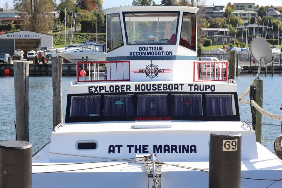 House boat boutique accommodation