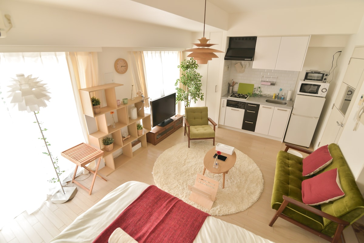 New!! Shinjuku 5min from station:)