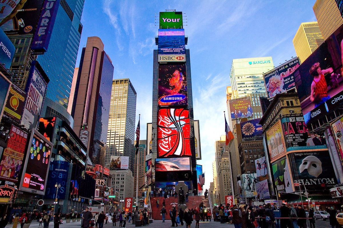 TIMES SQUARE AMAZING LOCATION