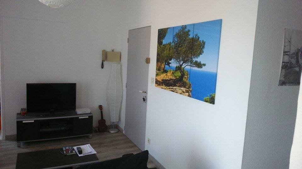 Appartement au coeur du village