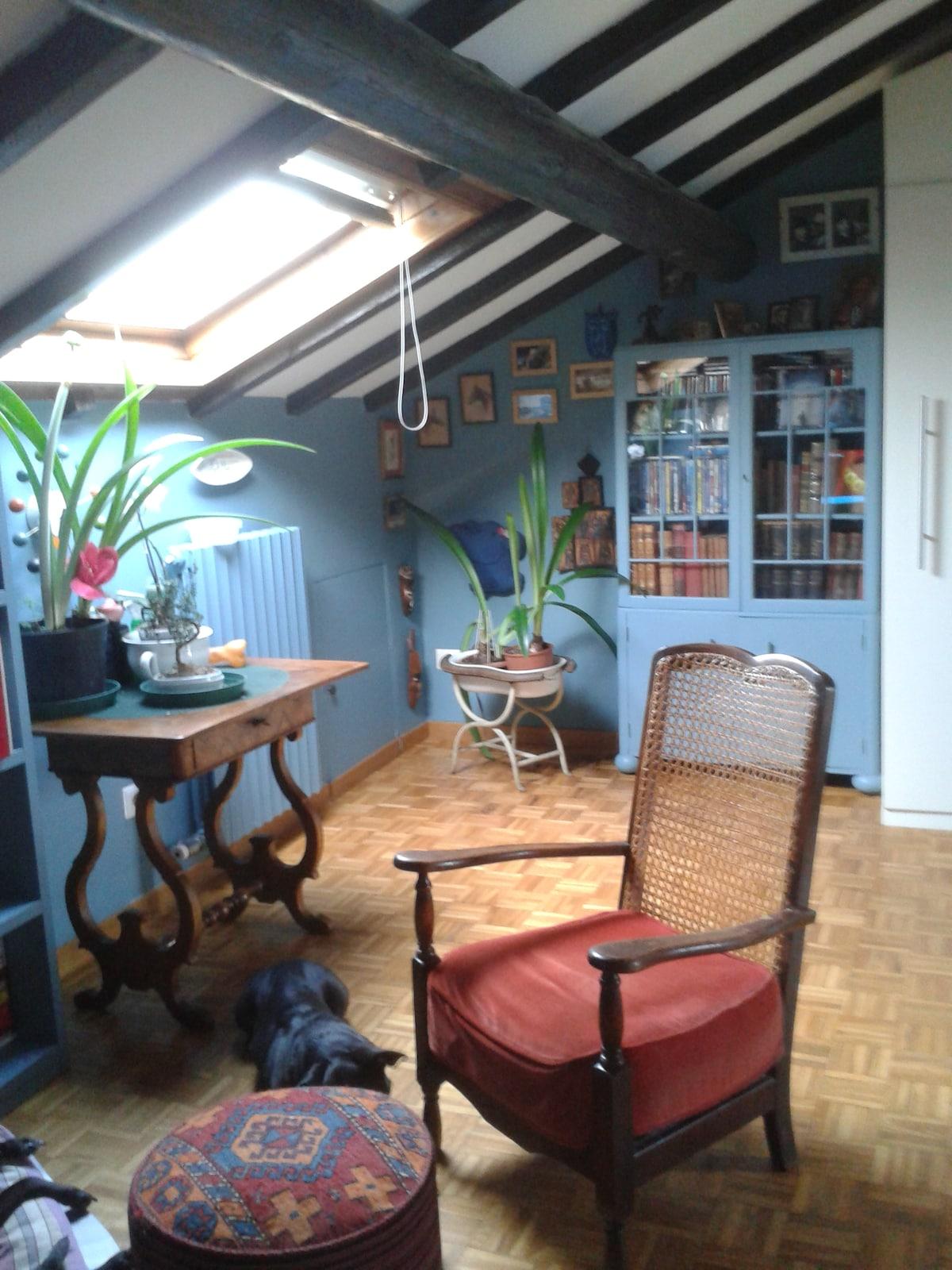 My blue bedroom