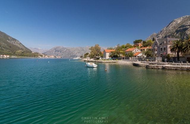 House on Water in Kotor, Montenegro