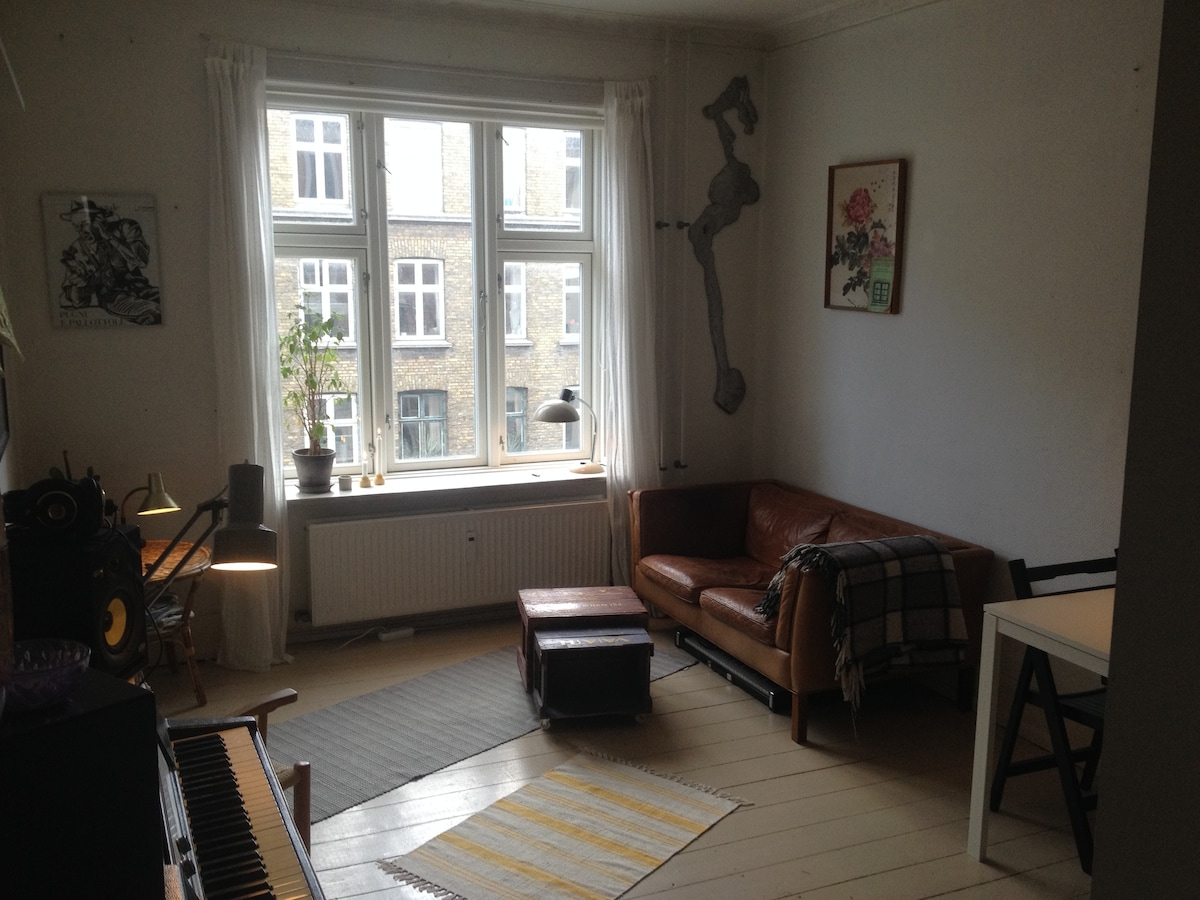 Cozy little apartment, Nørrebro