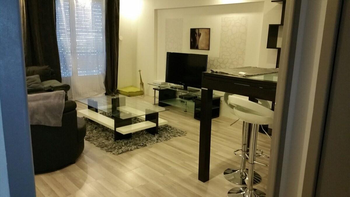 Appartement 70 m2 moderne et équipé