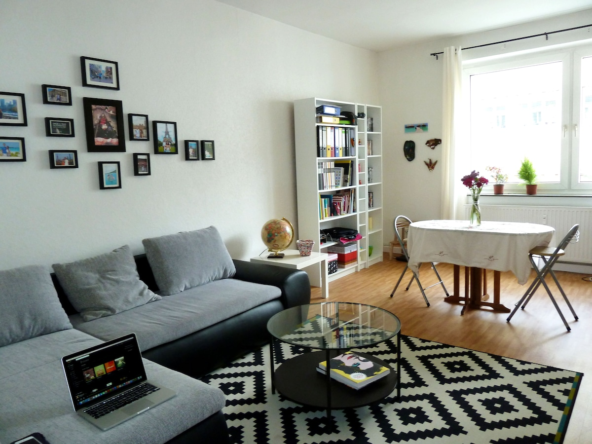 Bright-Cozy Flat in City Center