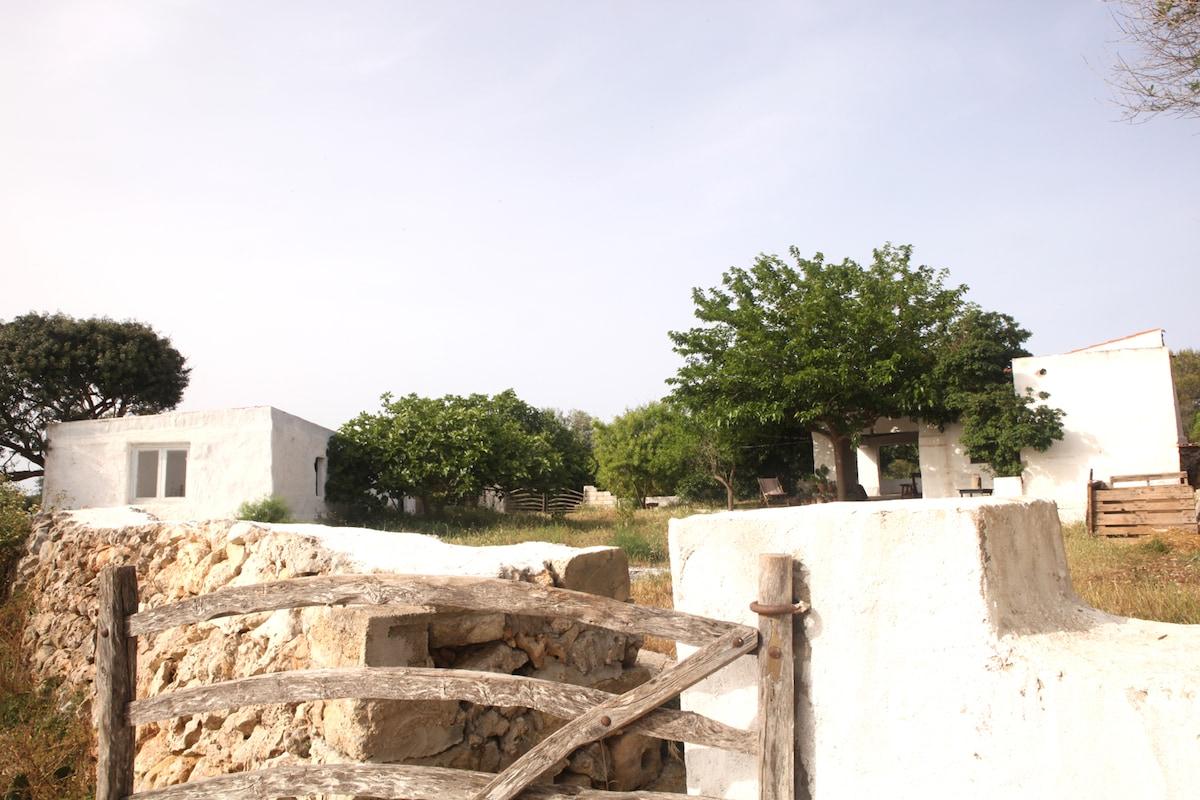 Peace and quite in rural Menorca