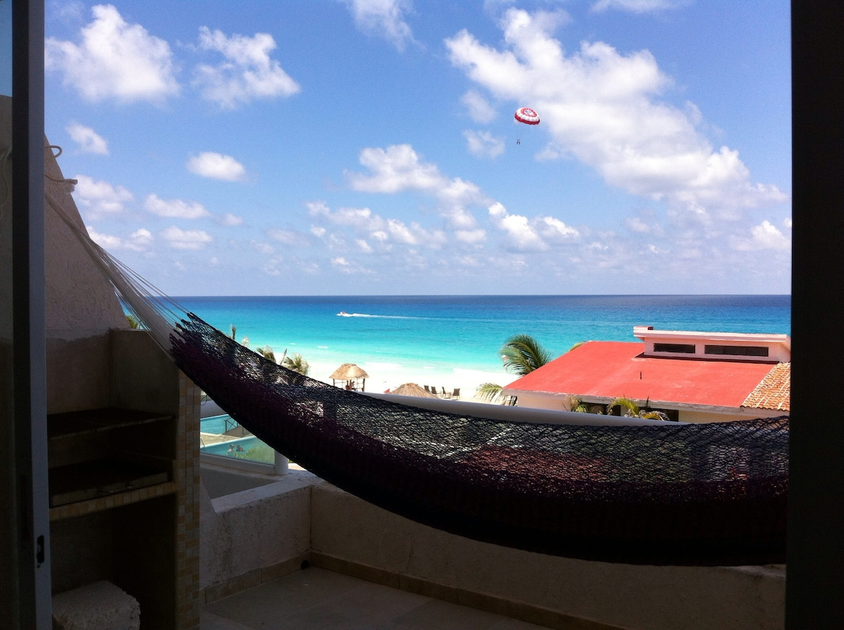 Cancún suite Private Beach, Seaview