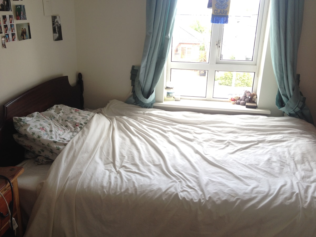 Double bedroom in spacious house