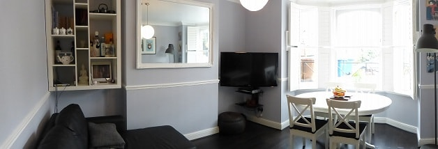 2 bed flat in East Dulwich
