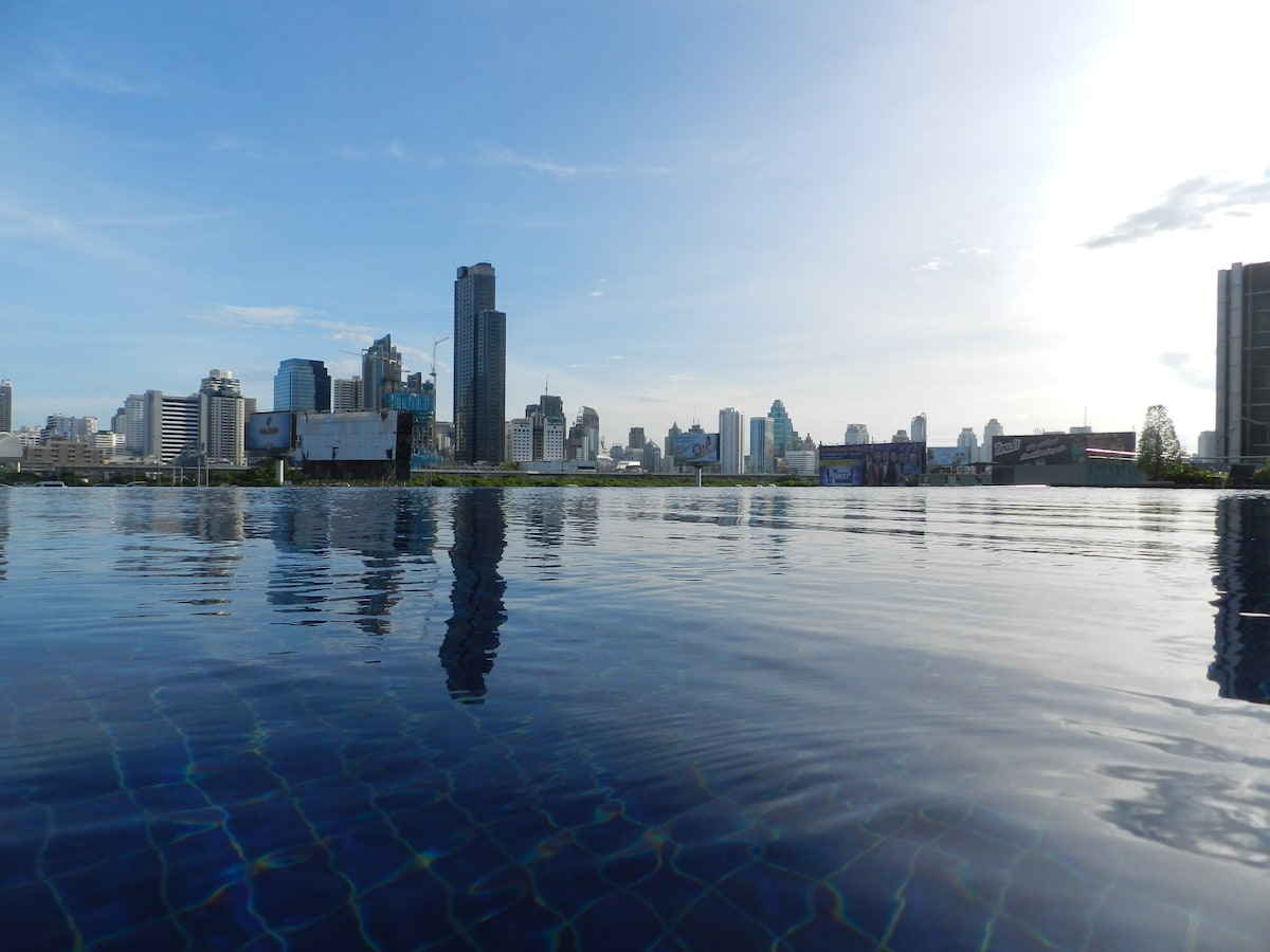 Condo with Bangkok's best skyline!