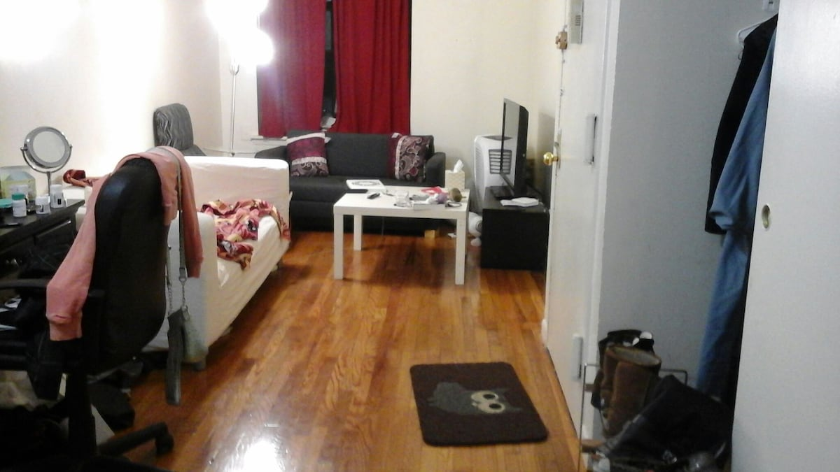 Roomy, relaxed, parkside apartment