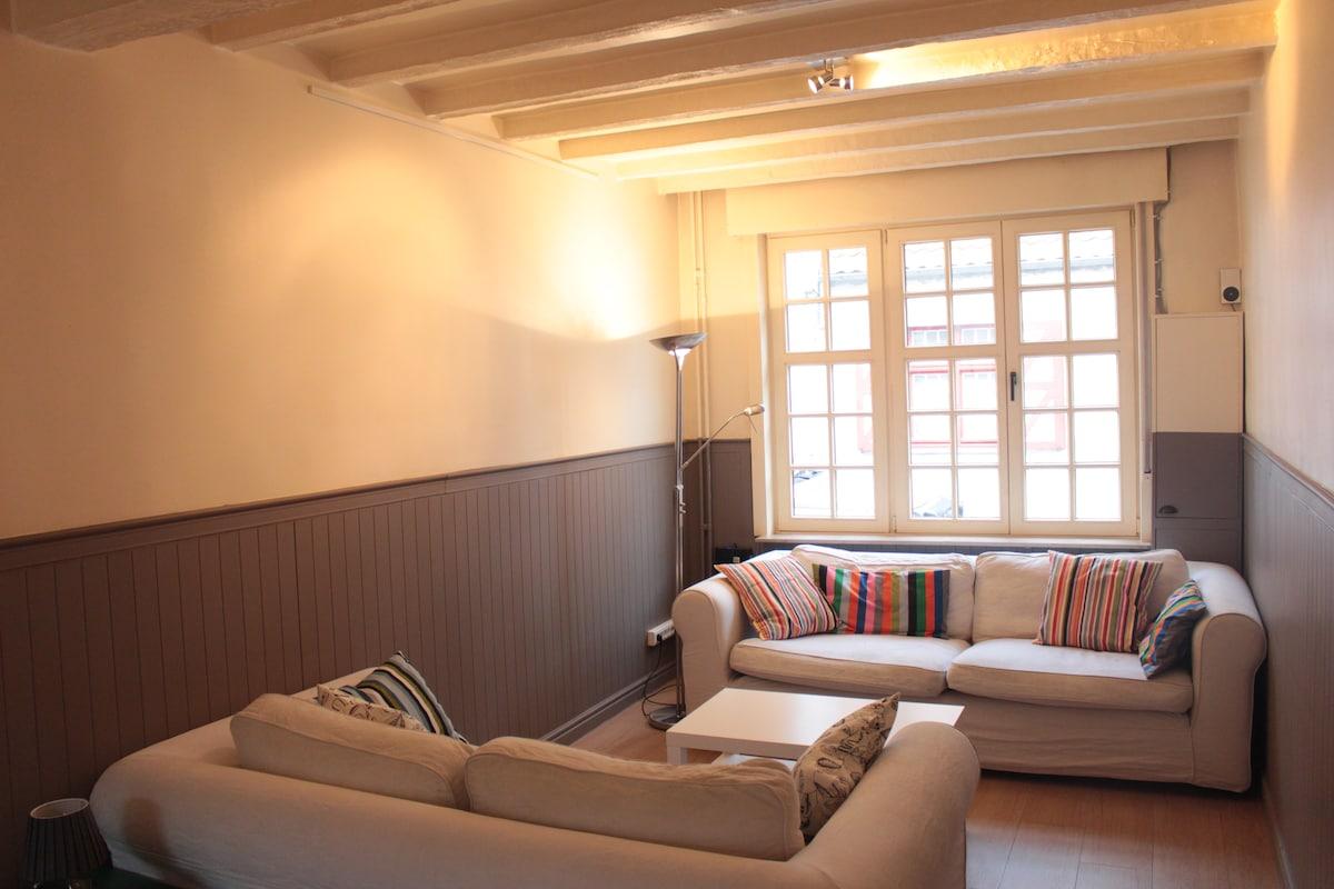 Cozy room in Bruges