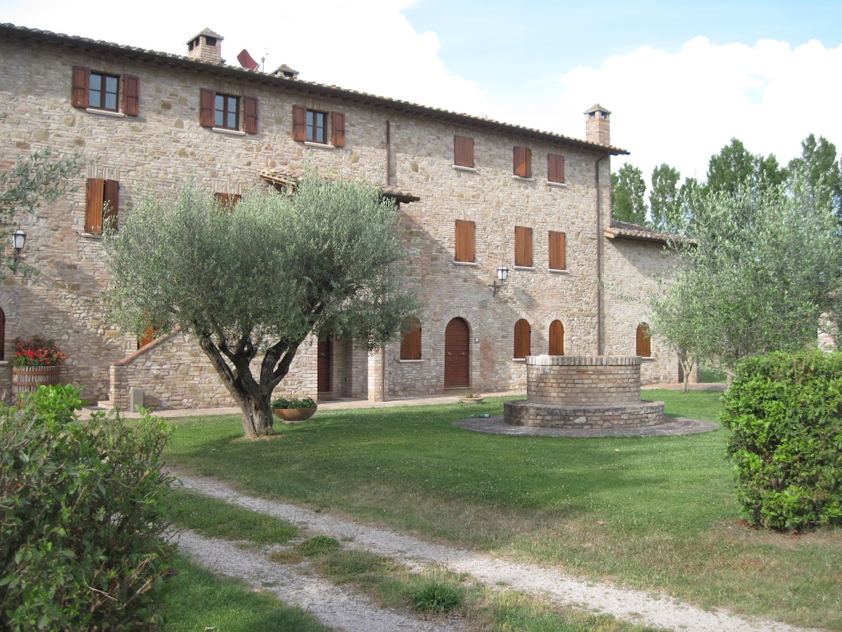 Farmhouse in the heart of Umbria