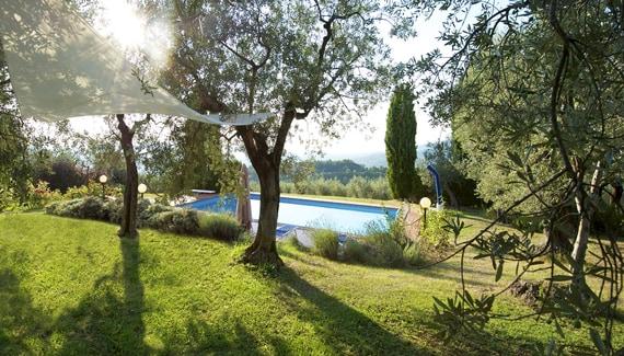 Villa Trampetti in Umbria