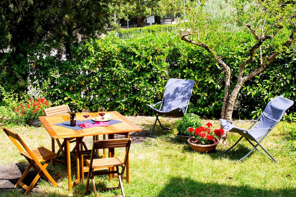 Oasi verde al centro di Spoleto