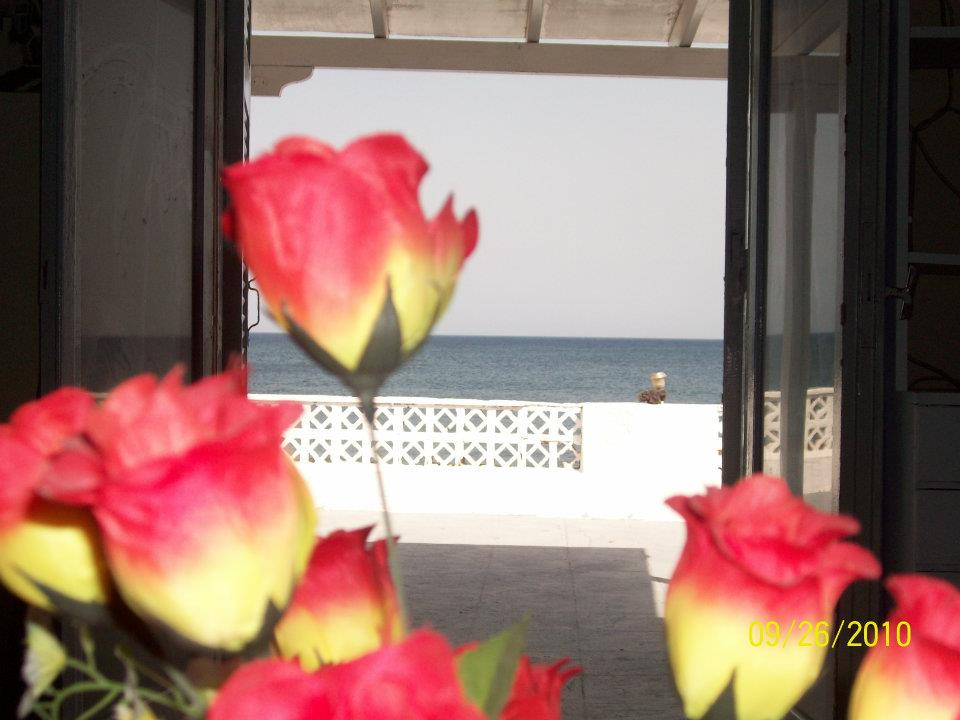 View to the sea from inside of summer lovers house for 4