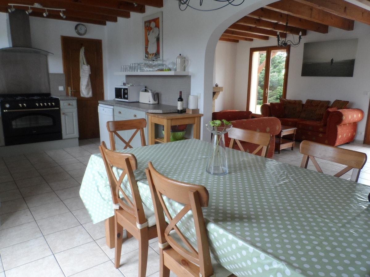 Superb villa near Hossegor/Biarritz
