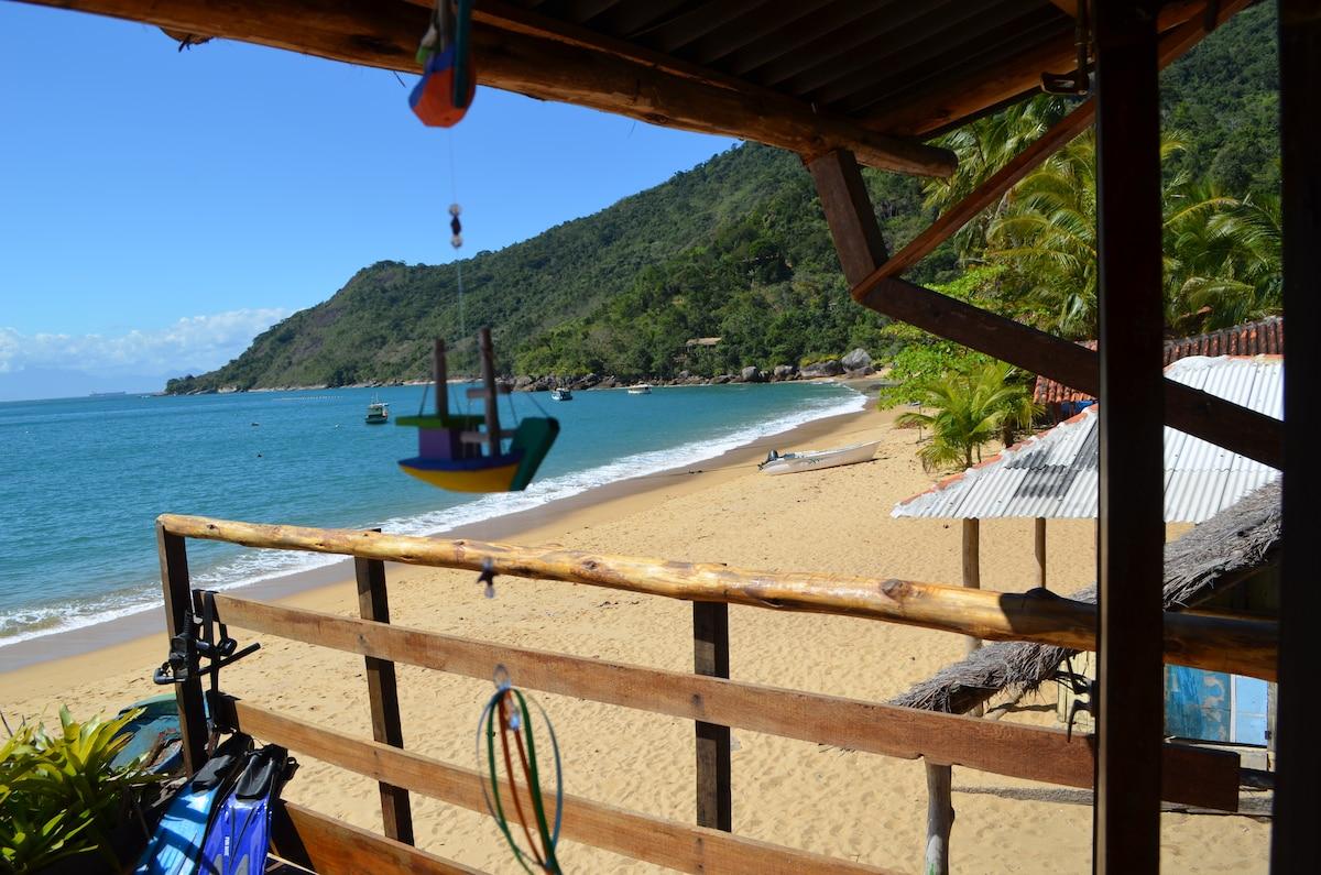 Beach front, dream come true.
