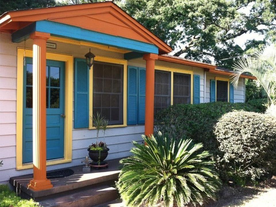 Peaceful Pensacola Bayou Cottage