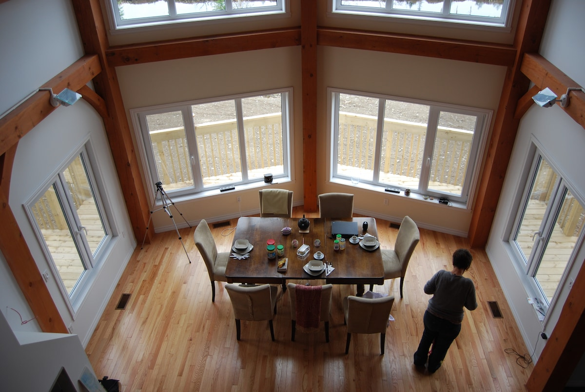 Dinning Place from Loft