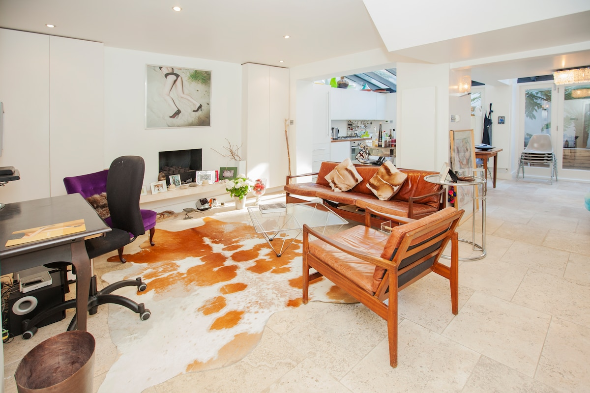 Charming Notting Hill Garden Flat