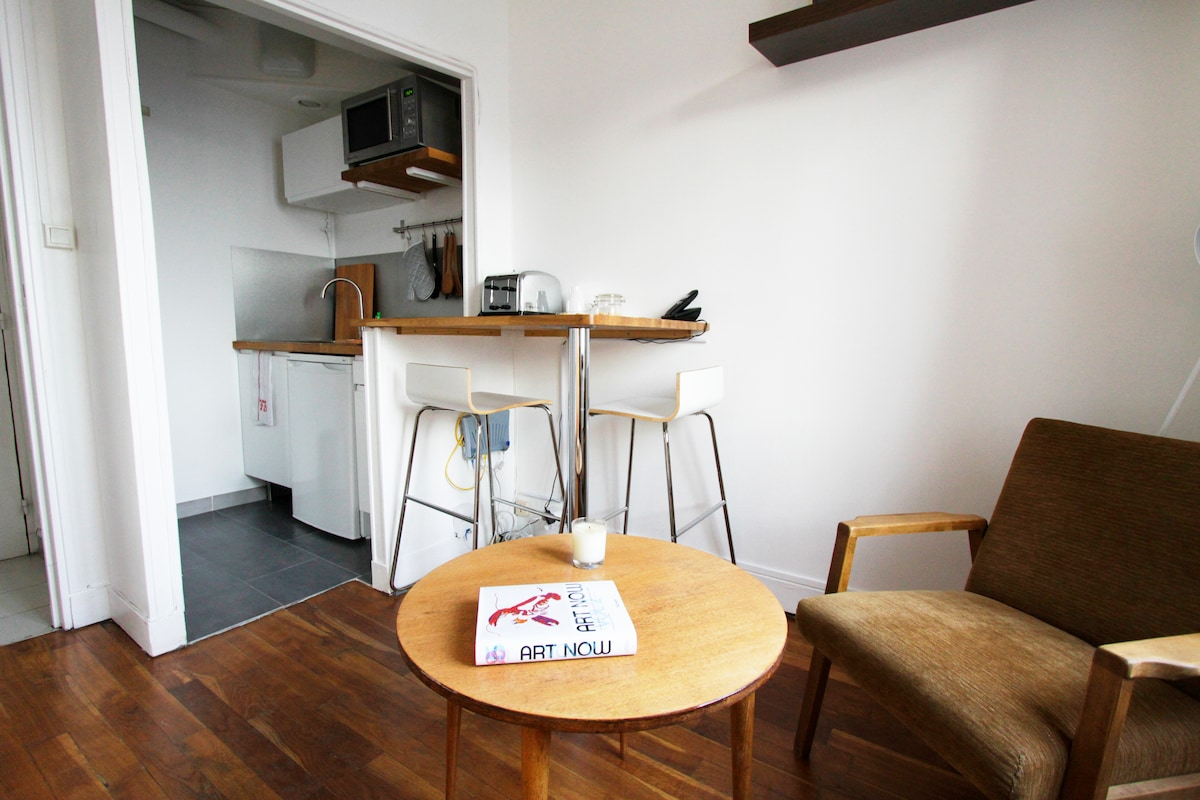 New Studio in trendy Menilmontant