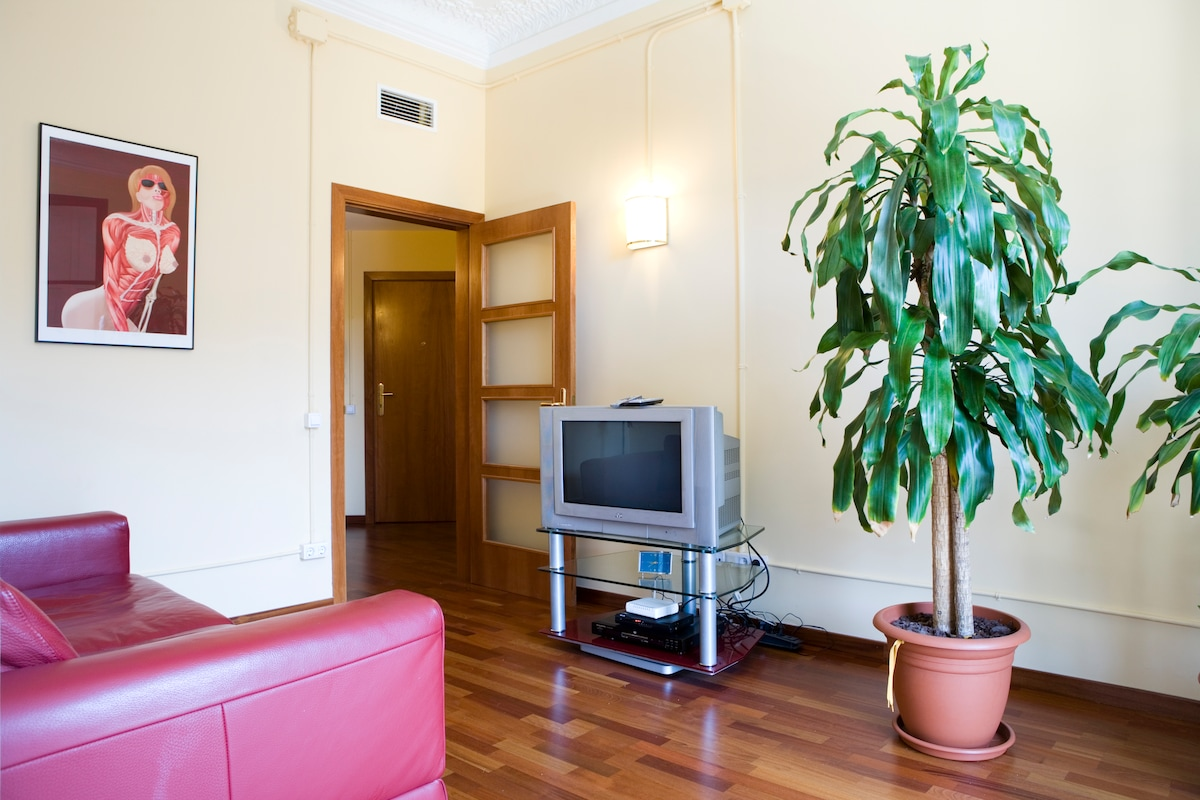 Fab apartment Barcelona city center