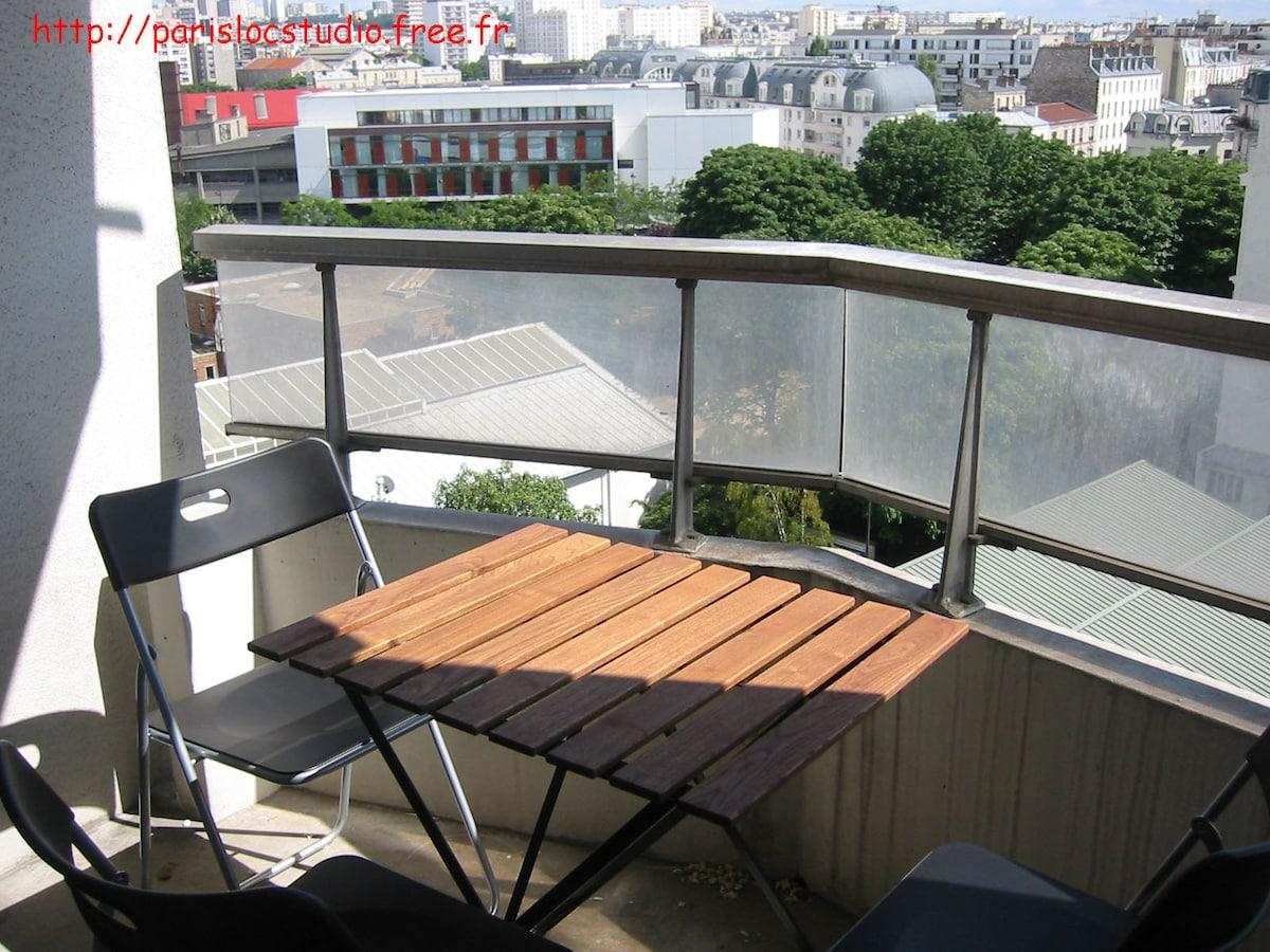 Furnished studio Paris Montmartre