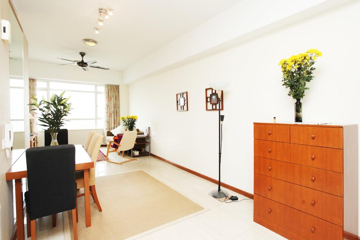 Living Room Full of Light!