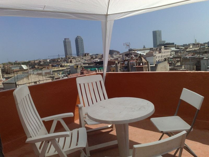 your private terrace with spectacular views!