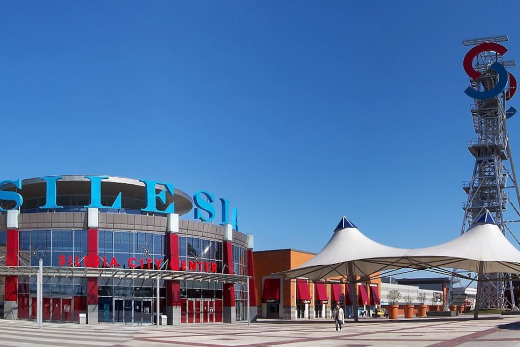 Enjoy the shopping spree in the Silesia Shopping Mall is 9 min by car, 4.7km away
