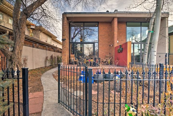 This vacation rental home sits just minutes from North Cherry Creek attractions.