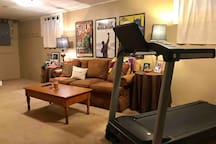 Unwind on the couch or get moving on the treadmill