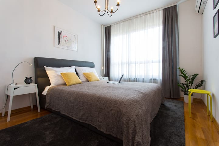 Zagreb center,free parking,near bus terminal,wifi