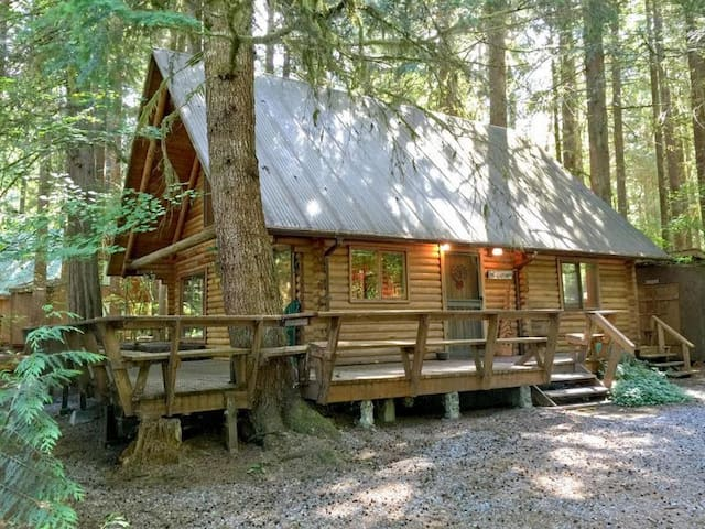 Glacier Holiday LogCabin BL (Phone number hidden by Airbnb) .