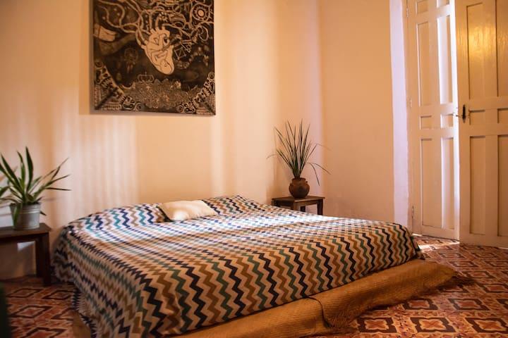 Casa Taller - Dormitorio Azul